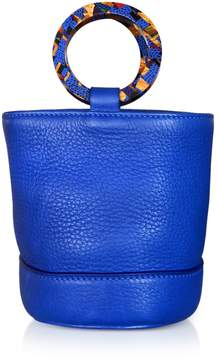 Simon Miller Cobalt Blue Leather Bonsai 15cm Bag