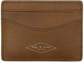 Rag & Bone Brown Hampshire Card Holder