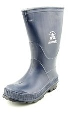 Kamik Stomp Toddler Round Toe Synthetic Blue Rain Boot.
