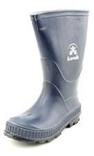 Kamik Stomp Toddler Round Toe Synthetic Blue Rain Boot.