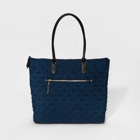 Merona Women's Nylon Quilted Tote Handbag