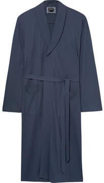 Hanro Night And Day Davide Brushed-Cotton Robe