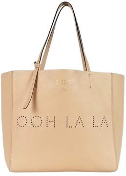 Kate Spade Pink 'Ooh La La' Hallie Leather Tote