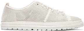 Marsèll White Perforated Ricicarro Sneakers
