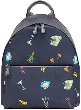Fendi monogram printed backpack