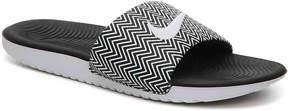 Nike Women's Kawa Print Slide Sandal