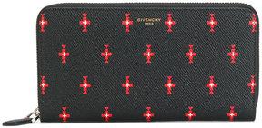 Givenchy cross pattern Pandroa wallet