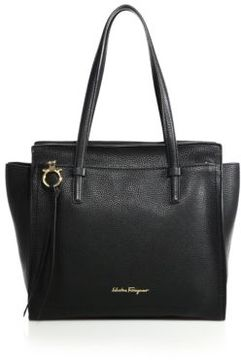 Salvatore Ferragamo Amy Medium Soft Leather Tote