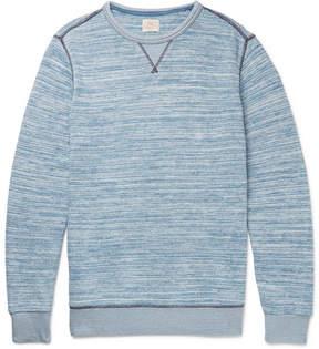 Faherty Mélange Cotton Sweatshirt