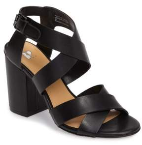 BP Women's Terry Block Heel Sandal
