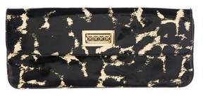 Tory Burch Printed Patent Leather Clutch