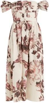 Brock Collection Demi floral-print cotton dress