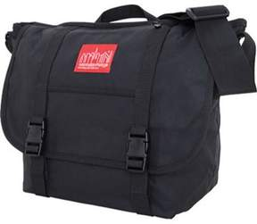 Manhattan Portage Unisex Waxed Canvas Messenger Bag.