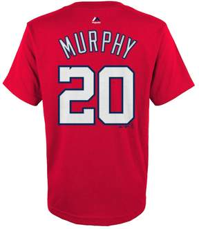 Majestic Boys 8-20 Washington Nationals Daniel Murphy Player Name and Number Tee