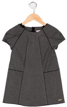 Little Marc Jacobs Girls' Pleated Shift Dress