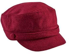 San Diego Hat Company Women's Cadet Cap With Self Button Cth8096.