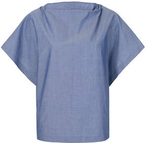 Chalayan flared sleeve blouse