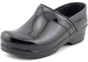 Sanita Smart Step Prof Mila Women Round Toe Patent Leather Work Shoe.