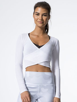 Alo Yoga Amelia Long Sleeve Crop