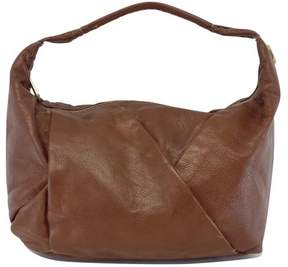 Marc by Marc Jacobs Brown Stitched Leather Shoulder Bag