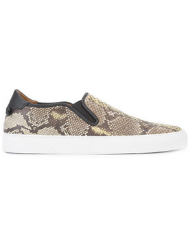 Givenchy Street Skate III Leather Slip-On Sneakers
