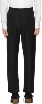 Lemaire Black Elastic Trousers