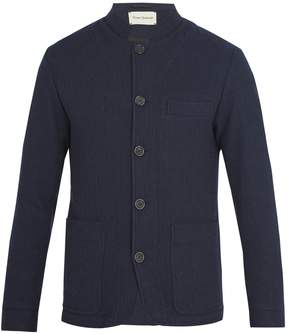Oliver Spencer Coram stand-collar wool jacket