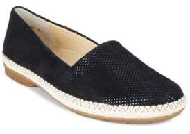 Paul Green Wisdom Leather Espadrilles Flats