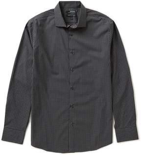 Murano Wardrobe Essentials Big & Tall Long-Sleeve Checked Sportshirt