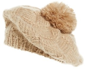 Shiraleah Women's Myla Knit Hat - Beige