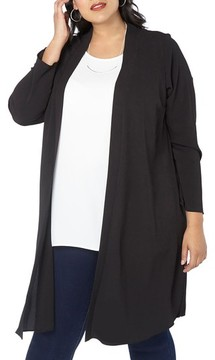 Evans Plus Size Women's Long Jacket