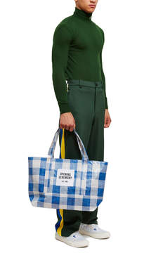 Opening Ceremony Gingham Medium Tote