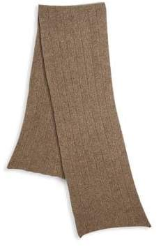 Saks Fifth Avenue COLLECTION Knit Ribbed Scarf