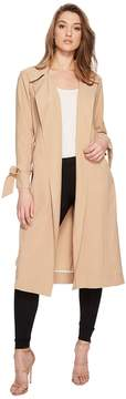 1 STATE 1.STATE Belted Trench Coat Women's Coat