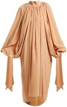 Awake Gathered crepe dress