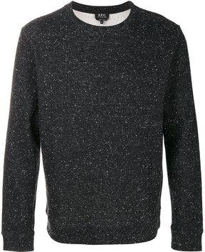 A.P.C. speckled sweatshirt