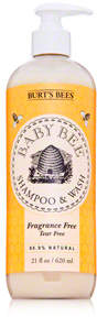 Burt's Bees Baby Bee Fragrance Free Shampoo and Wash