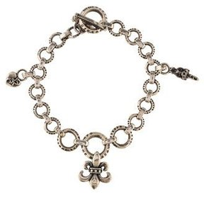 Chrome Hearts Charm Link Bracelet
