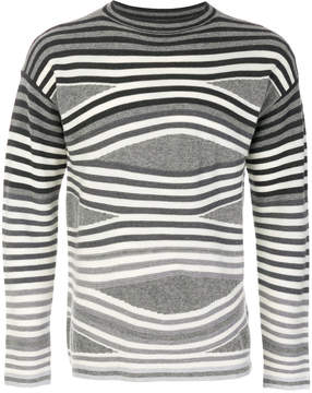 Emporio Armani striped jumper