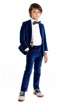 Appaman Blue Velvet Suit