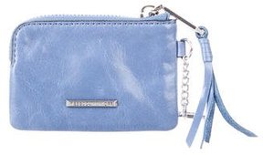 Rebecca Minkoff Leather Key Pouch - BLUE - STYLE