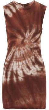 Enza Costa Tie-Dyed Stretch-Jersey Top