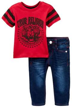 True Religion TR Tiger Tee & Jeans Set (Baby Boys)