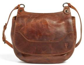 Frye Melissa Leather Foldover Crossbody Bag