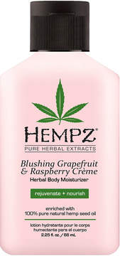 Hempz Travel Size Blushing Grapefruit & Raspberry Creme Herbal Body Moisturizer