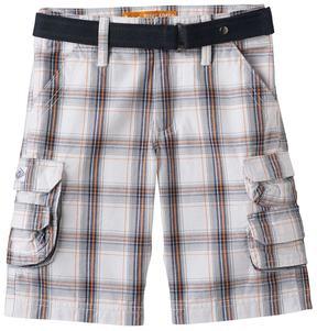 Lee Boys 4-7x Plaid Cargo Shorts