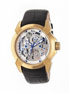 Reign Optimus Collection REIRN3803 Men's Gold Stainless Steel Automatic Watch