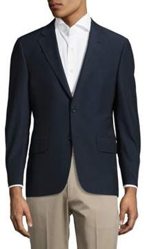 Hickey Freeman Milburn II Solid Three-Pocket Jacket