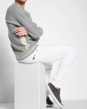 7 For All Mankind Luxe Performance Paxtyn Skinny in White