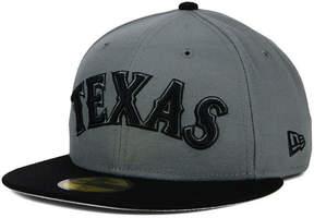 New Era Texas Rangers Gray 59FIFTY Cap